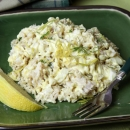 Rice, Apple & Egg Salad