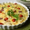 Savoury Bread-based Tart